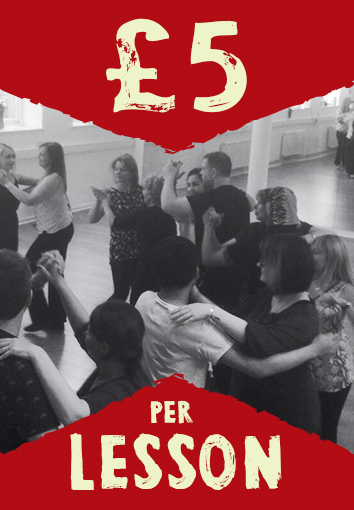 £5 Salsa Lesson in Sheffield